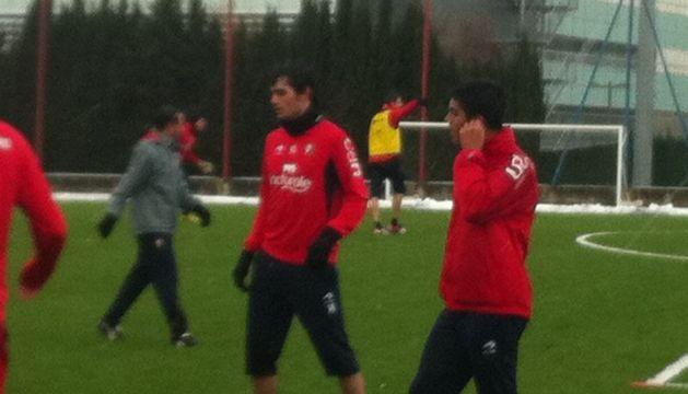 El Gato Silva ya se ha entrenado este miércoles junto a sus compañeros
