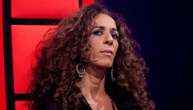 Imagen de la cantante Rosario en 'La Voz'