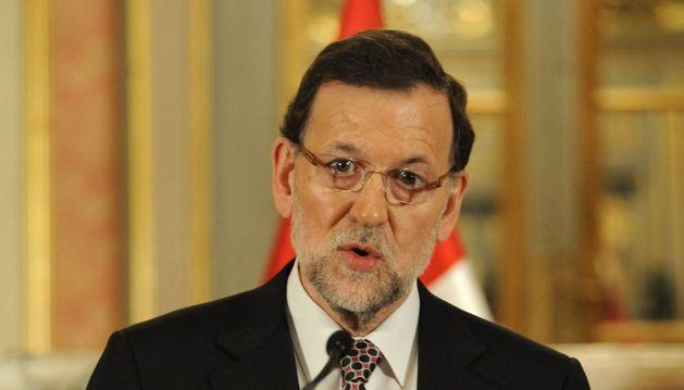 El presidente del Ejecutivo español, Mariano Rajoy