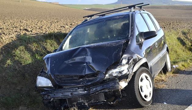 Accidente mortal en Larraya
