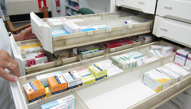 Imagen del interior de una farmacia.