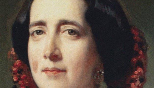 Retrato de Gertrudis Gómez de Avellaneda