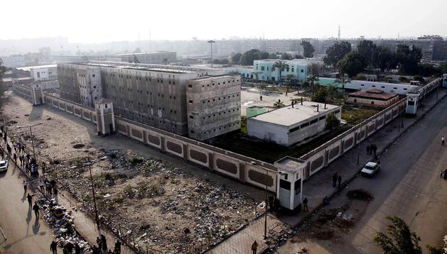 Vista general de la prisión de Port Said en la localidad egipcia de Suez