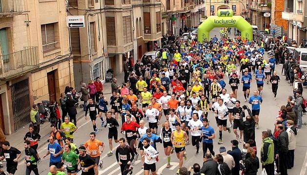 El domingo 27 de enero de 2013 se disputó la carrera 'X Millas Peralta-Falces', en la que venció el corredor Sabin Arruti.