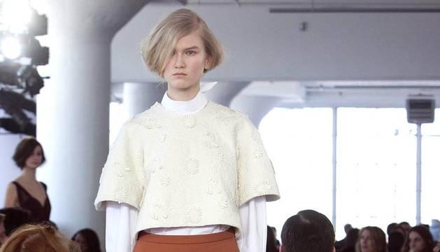 La colección otoño-invierno de DelPozo en la semana de la moda de Nueva York.