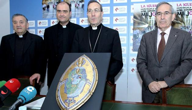 El arzobispo, Francico Pérez en una imagen de archivo