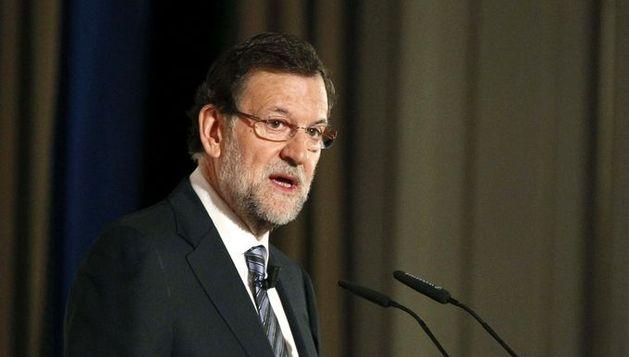 El presidente del Gobierno, Mariano Rajoy, durante su participación en una jornada del seminario The Economist