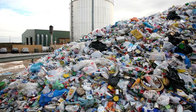 Instalaciones de El Culebrete, donde se destinan parte de los residuos de Navarra.