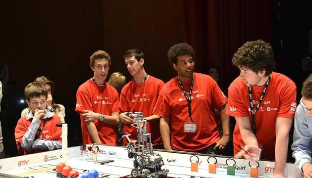 La quinta edición de la First Lego League celebrada en Baluarte