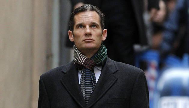 El duque de Palma, Iñaki Urdangarin, ha llegado a las 09:12 horas a los juzgados de Palma para declarar por segunda vez como imputado por las supuestas irregularidades detectadas en la gestión de fondos públicos por parte del Instituto Nóos.