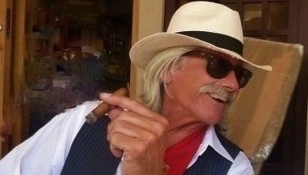 Keith Baumchen, más conocido como 'Bomber', venía a Pamplona por San Fermín desde hacía más de 40 años
