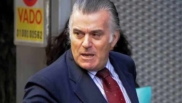 Luis Bárcenas llega a la Audiencia Nacional