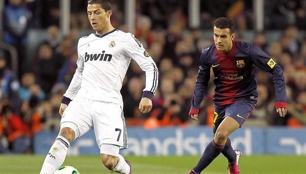 Victoria del Real Madrid en el Camp Nou en la vuelta de la semifinal de la Copa del Rey 2012/2013, que da a los blancos el pase a la final (1-3).