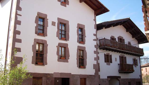 Casa Rural Kastonea, en la localidad navarra de Erratzu.
