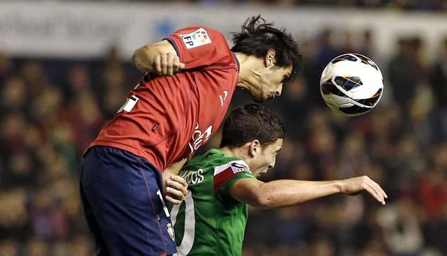 El Athletic se llevó los tres puntos del Reyno de Navarra tras vencer por 0-1 gracias a un gol de Markel Susaeta en la segunda parte.