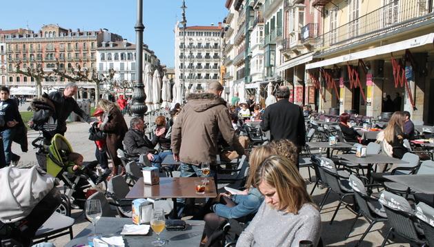 El sol será la tónica en Pamplona este fin de semana