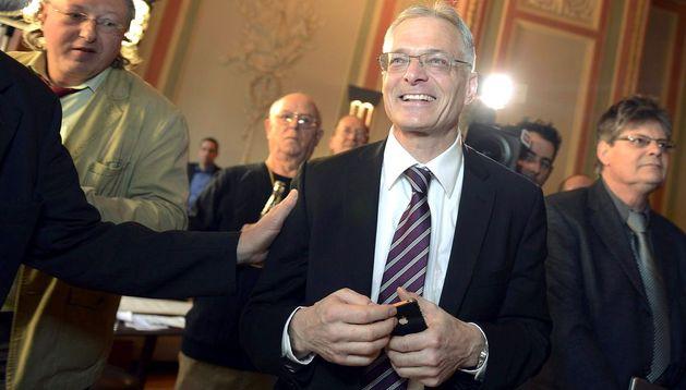 Thomas Minder, quien incentivó la iniciativa del referéndum