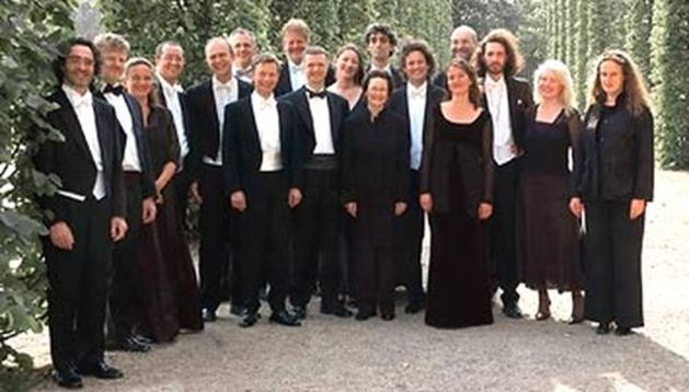 Miembros de Concerto Köln