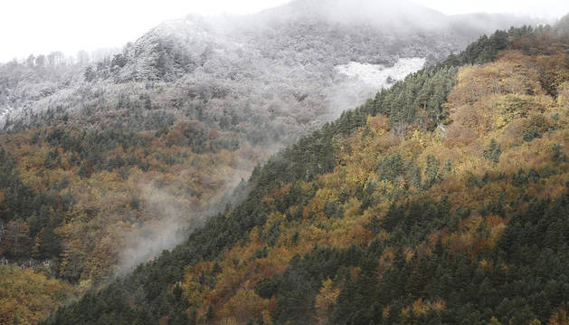 Vista del Pirineo navarro.