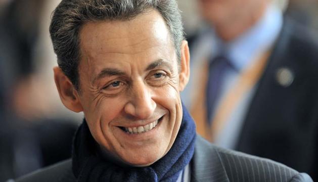 El expresidente francés, el conservador Nicolas Sarkozy
