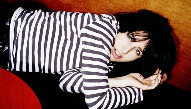La líder y cantante de la banda escocesa Texas, Sharleen Spiteri, en una imagen de 2003.