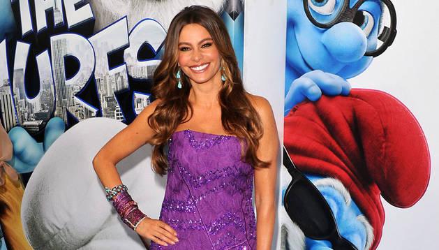 Imagen de archivo de la actriz colombiana Sofía Vergara