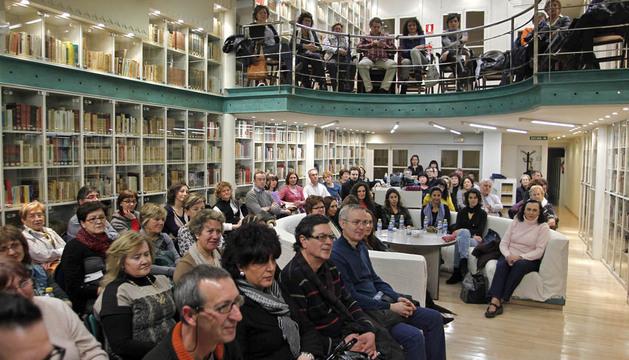 El público agotó las invitaciones para asistir al encuentro del Club de Lectura