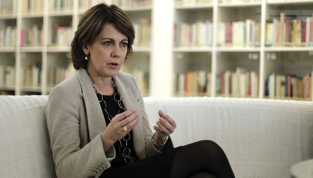 La presidenta de Navarra, Yolanda Barcina