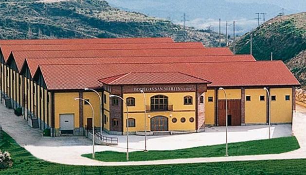 Instalaciones de Bodegas San Martín, que elabora el vino premiado