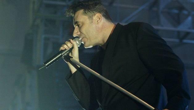 El cantante Loquillo