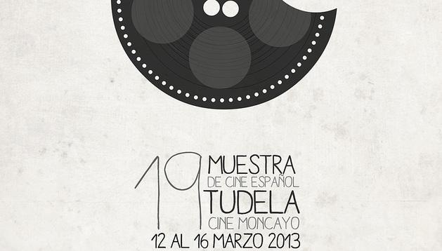 Cartel de la 19ª edición de la Muestra de Cine Español de Tudela.