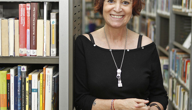 Imagen de la escritora Rosa Montero, de abril de 2011.