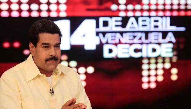 Maduro, en una entrevista en la televisión venezolana.