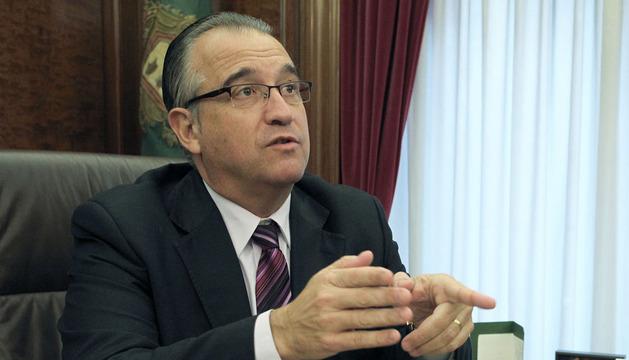 El alcalde de Pamplona Enrique Maya