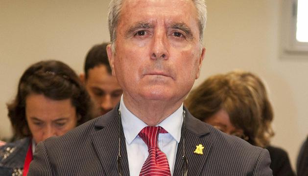 Ortega Cano, en el banquillo de los acusados.