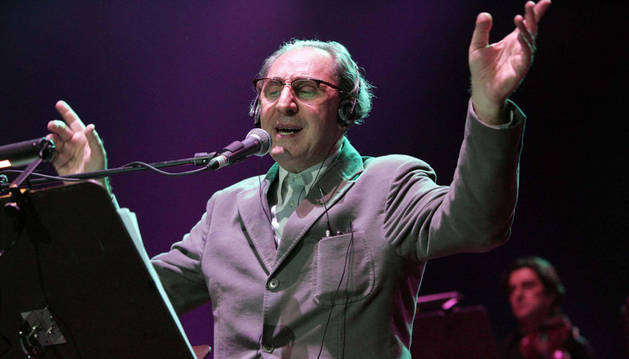 El cantante italiano Franco Battiato