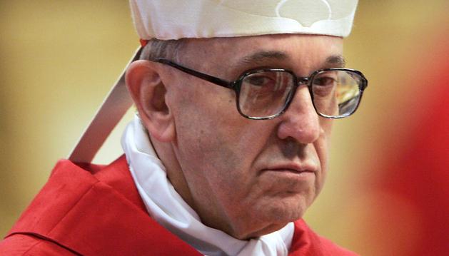 Imagen de archivo del cardenal argentino Jorge Mario Bergoglio, nuevo papa