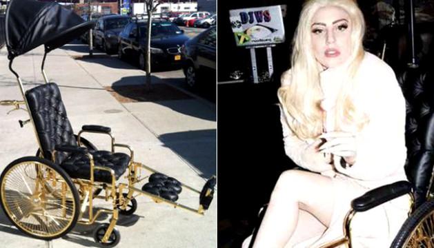 La silla de ruedas que ha encargado Lady Gaga