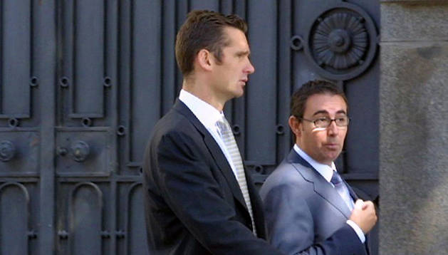 Imagen de archivo de Urdangarin y Torres paseando por Madrid  en 2003.
