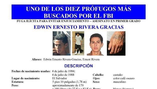Fotografía que muestra a Edwin Ernesto Rivera Gracias