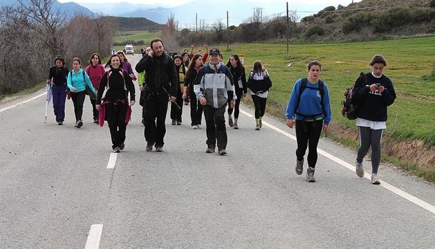 La primera Javierada 2013 se celebró el pasado sábado 10 de marzo.