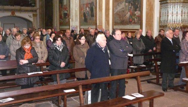 Los cofrades acudieron el sábado a la romería de marzo, en la que se celebra también la asamblea anual.