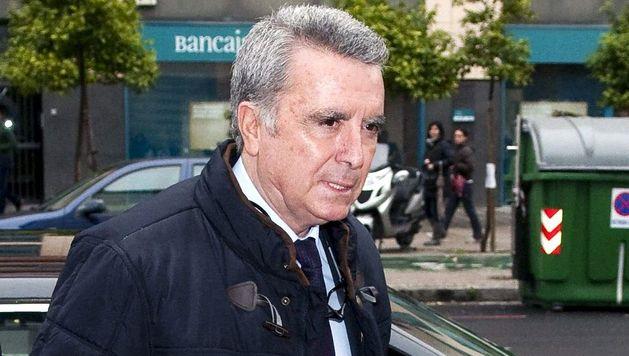 El torero José Ortega Cano, a su llegada a los juzgados de Sevilla