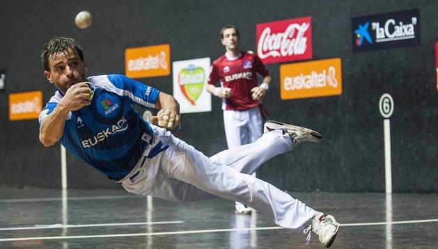 Berasaluze II, junto a Albisu, dependen de sí mismos para pasar a las semifinales
