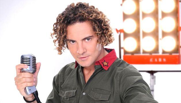 El cantante almeriense David Bisbal