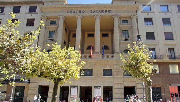 Fachada del Teatro Gayarre