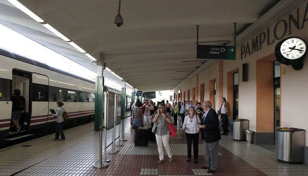 Estación de tren de Pamplona