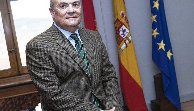 Luis Zarraluqui, consejero de Fomento