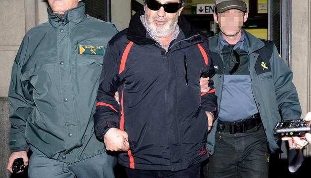 Juan Lanzas sale hacia prisión