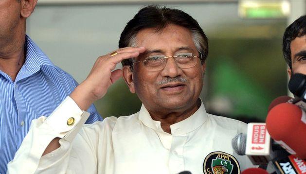 El expresidente de Pakistán Pervez Musharraf